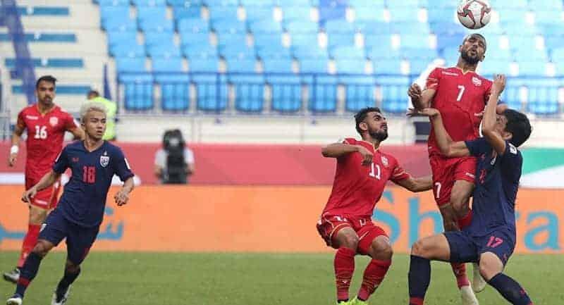 موعد مباراة البحرين وتايلاند في كأس أمم آسيا 2019