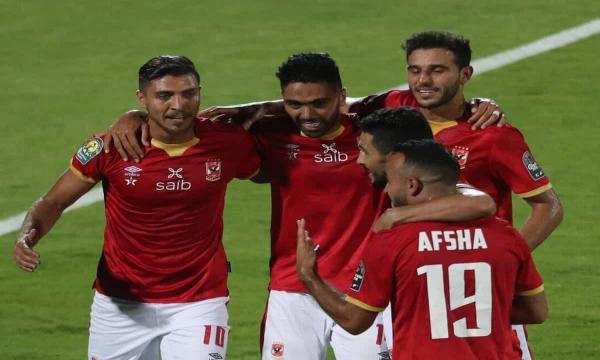 الأهلي وكايزر شيف في مباراة نهائي دوري أبطال إفريقيا 17-7-2021