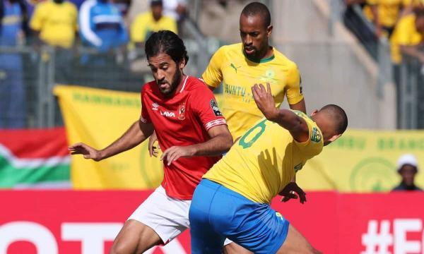 نتيجة مباراة الأهلي ضد صن داونز اليوم 1/1 تأهل القلعة الحمراء