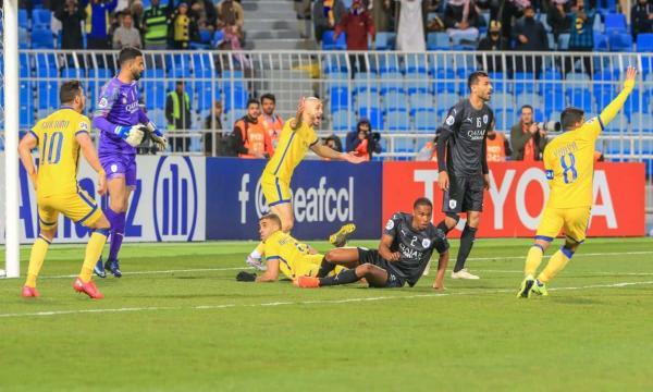 النصر يفوز بثلاثية على السد القطري بدوري أبطال آسيا 2021