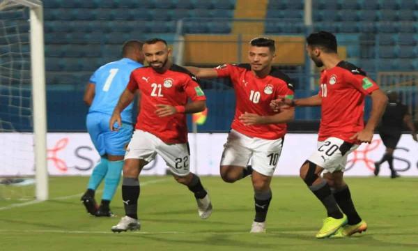 موعد مباراة منتخب مصر والجابون اليوم تصفيات كأس العالم أفريقيا 2021