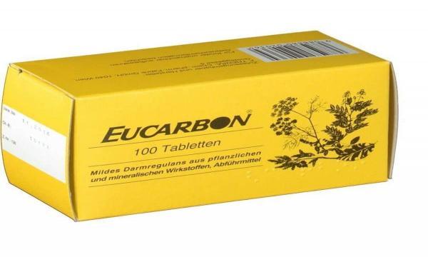 حبوب الفحم اوكاربون أقراص Eucarbon فوائد وأضرار