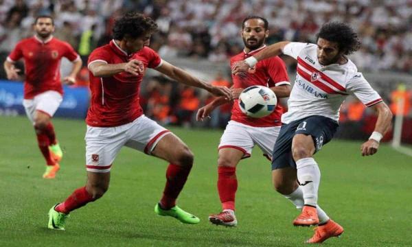 مباراة الأهلي والزمالك بالدوري المصري الممتاز